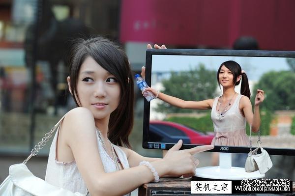 电脑屏幕出现一条白线怎么办?电脑显示器中间出现一条线解决方法
