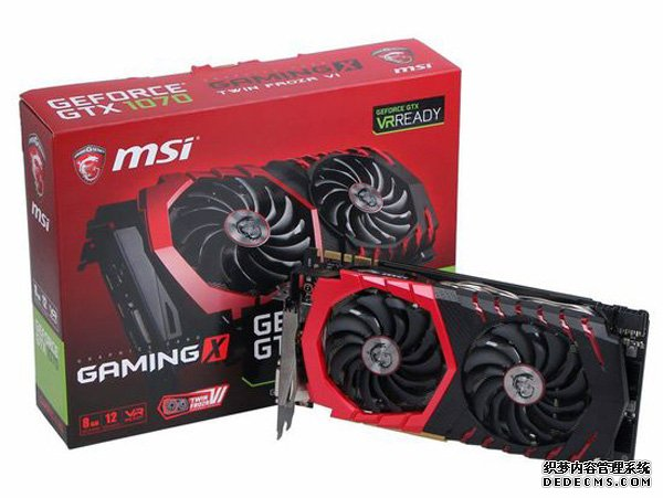 微星GTX1070 Gaming X红龙显卡