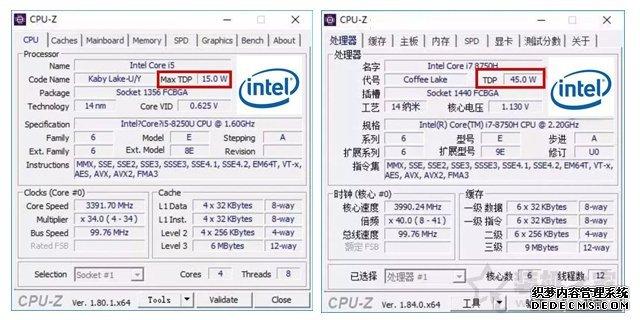 CPU低压和标压哪个好?笔记本电脑低压CPU和标压CPU区别介绍