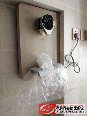 海尔管线机直饮机壁挂式饮水机HSW-GX7怎么样?使用评价评测